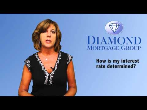 How Is My Interest Rate Determined | The Diamond Mortgage Group