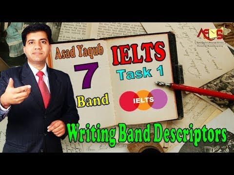 How to Get 7 Bands || IELTS Writing Task 1 Descriptors || Asad Yaqub