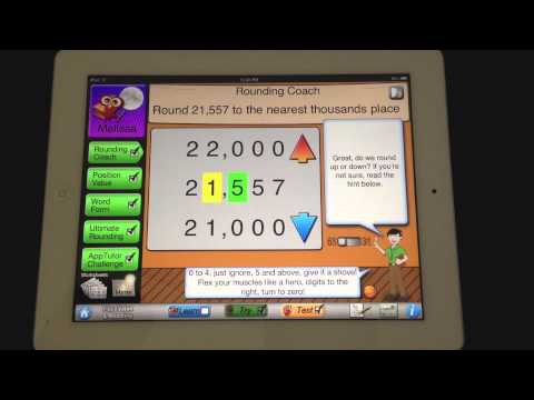 AppTutor Place Value and Rounding App