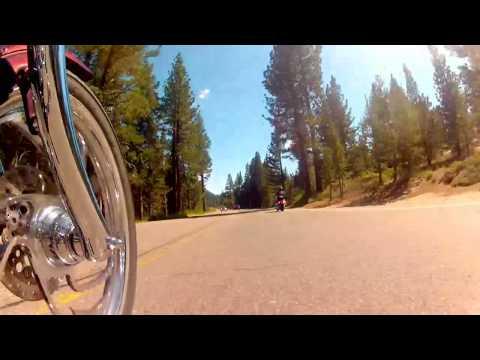 Softail Deuces invade Lake Tahoe