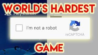 World's Hardest Game: CAPTCHA