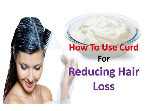 Hair Fall Problem By Curd   How To Use Curd for Reducing Hair Loss