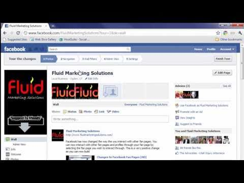 Facebook Changes Fan Page Layout