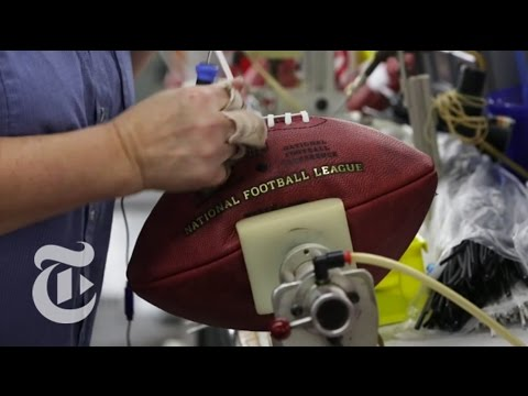 Inside a Wilson Football Factory | The New York Times