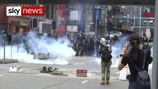 Protesters in Hong Kong: 'We will never surrender'