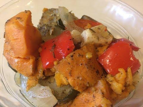 Slow Cooker Roasted Vegetables - Healthy Crock Pot Recipes