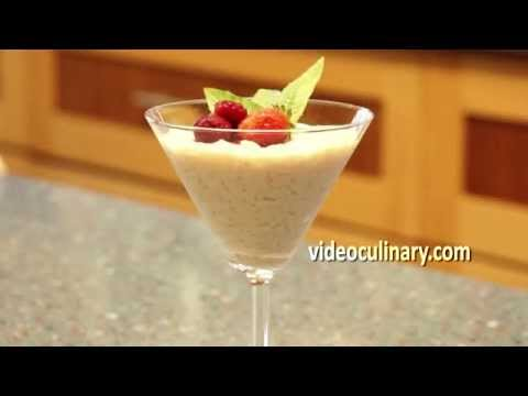 Easy Dessert - Quick Rice Pudding Recipe