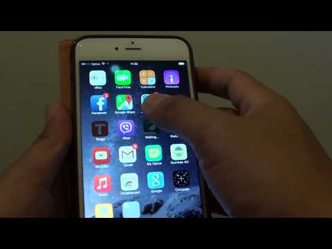 iPhone 6: How to Move / Re-arrange Home Screen Icons