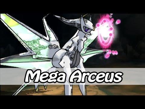 Mega Arceus - Pokemon Omega Ruby & Alpha Sapphire (Hack)