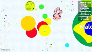 AGAR.IO // EXPERIMENTAL + PRIVATE SERVER