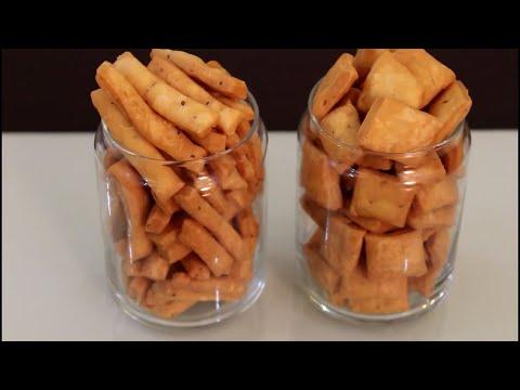 How to Make Namak Pare in Hindi | Crispy Namak Pare-Crispy and Crunchy Namkeen