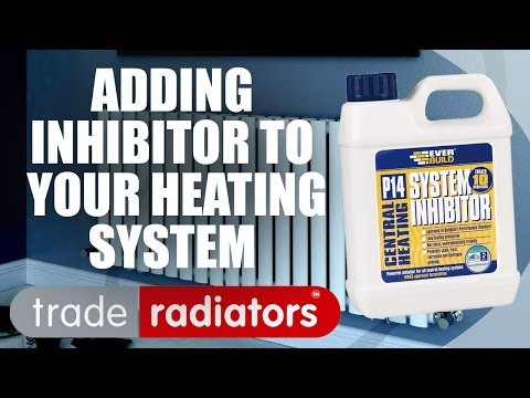 Adding Inhibitor Fluid to Central Heating System