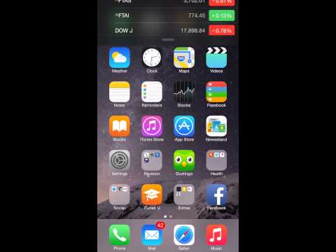 How to get widgets iOS 8 iPhone FREE