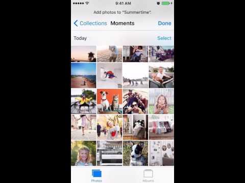 Creating iPhone Photo Albums