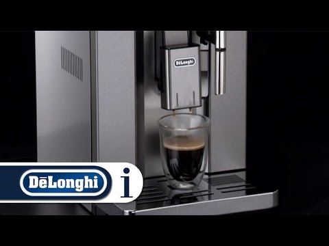How to make long coffee using pre-ground with your De'Longhi PrimaDonna Exclusive ESAM 6900