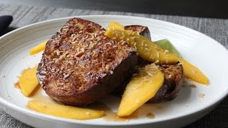 Coconut Cream French Toast - How to Make Coconut French Toast
