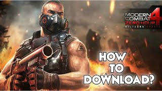 How to Download Modern Combat 4  Zero Hour for Android Pie 9 | কিভাবে MC4 খেলবেন | Bangla Review MC4