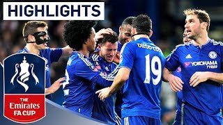 Chelsea 5-1 Man City - Emirates FA Cup 2015/16 (R5) | Goals & Highlights