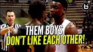 THIS GAME GOT HEATED REAL QUICK! Tyrese Maxey vs Redus Twins Ballislife Highlights