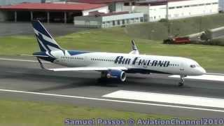 Shortest Take Off Ever Seen By B757-200 • Madeira