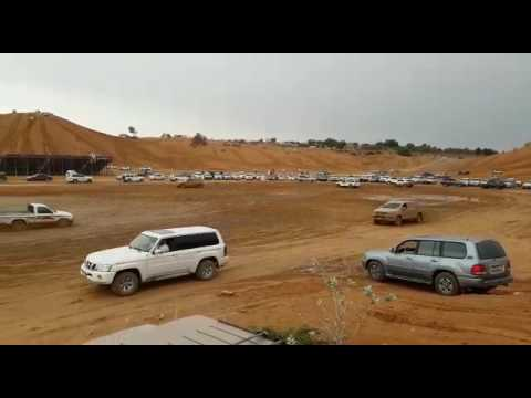 Supercharged Nissan Patrol Y62 Bumping into Toyota Pickup | Sharjah Mud Track 2017