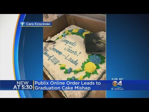 Publix Refuses To Write 'Summa Cum Laude' On Graduation Cake
