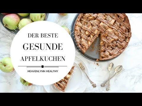 Der beste gesunde Apfelkuchen | Heavenlynn Healthy & Kitchen Stories