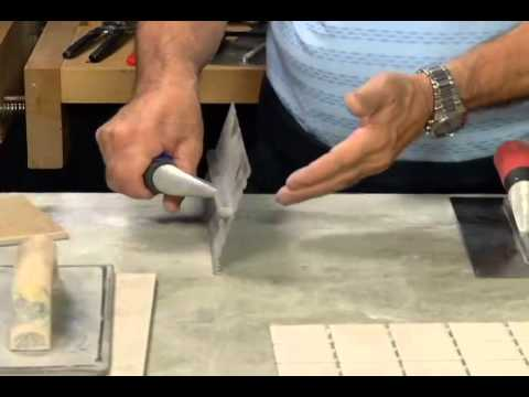 How to Choose the Right Tile Trowel