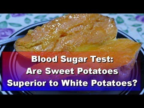 Blood Sugar Test: White Potato vs Sweet Potato