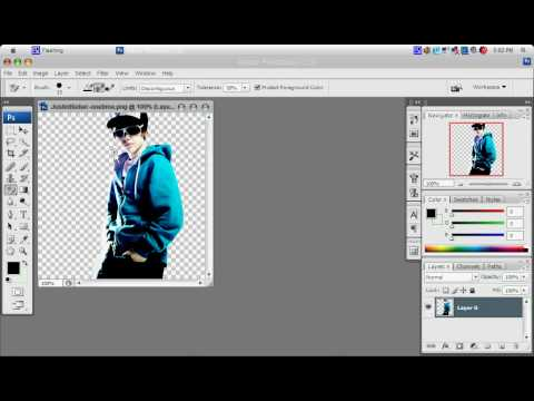 change a background in photoshop cs3 or cs4