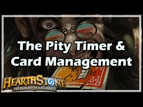 [Hearthstone] The Pity Timer & Card Management