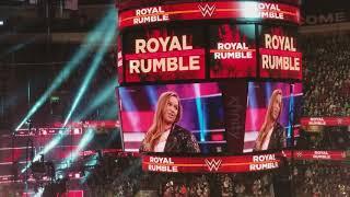 Ronda Rousey 2018 Royal Rumble Apperance - 1-28-18