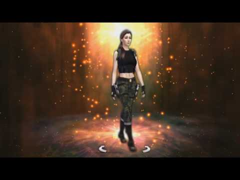 THE SIMS 4 - Lara Croft - Angel of Darkness : Louvre storm drains outfit