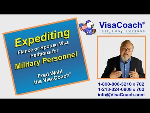 Expediting Fiance or Spouse Visa Petitions for Military Personnel