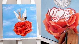 Paint with me🌹 Claudia Sulewski