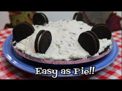 Cookies and Cream Pie ~ No Bake Pie ~ Make Ahead Thanksgiving ~ Noreen's Kitchen