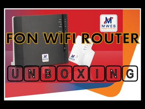 Fon Wifi Router Unboxing