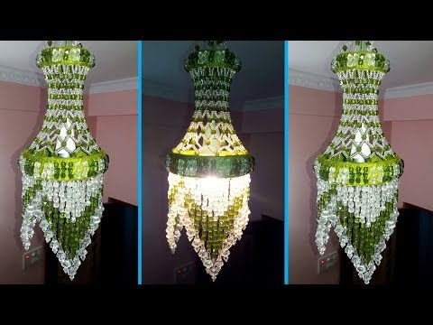 How To Make Jhumar At Home | Wall Hanging Decoration | Beaded Chandelier | Home Decorating Ideas