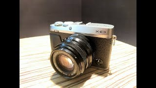 Fujifilm X-E3 [India] Hands On and First Impression
