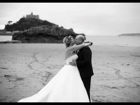 Lezah and Karl Cooper's Wedding at St Michael's Mount. Long short version.