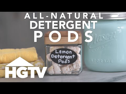 DIY All-Natural Laundry Detergent Pods - HGTV