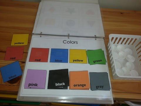 Toddler Learning Folder(Preschool Prep)
