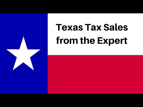 Texas Tax Sales from The Expert