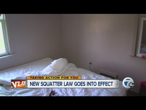 New squatting law goes into effect