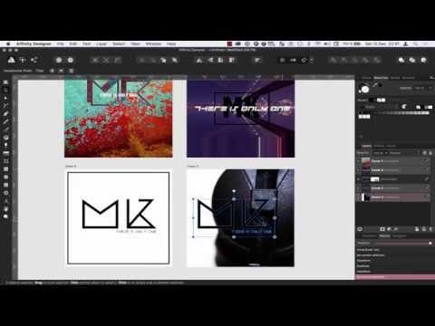 Affinity Designer - How to create album artwork