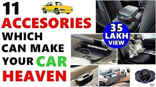 11 Car Accessories जो आपकी गाडी को स्वर्ग बना देंगी | Accessories which can make your car Heaven|ASY