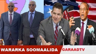 Warar Deg Deg Ah Mareykanka Oo Dhex Dhexaadinaaya Somalia & Kenya, Jawabta S/Land, Burburka G/Mudug