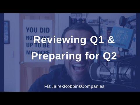 FB Live Repost: Reviewing Q1 & Preparing for Q2