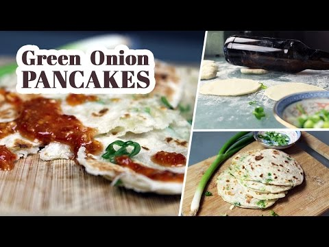 Green Onion Pancakes   Vegan Recipe by Mary's Test Kitchen