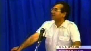 Mirza Ghulam Ahmad PREGNANT by ALLAH? - Ahmadiyya Khalifa explains 1/2